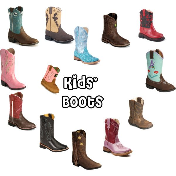 """Kids' Cowboy Boots"" by Sheplers-Western-Wear on Polyvore"