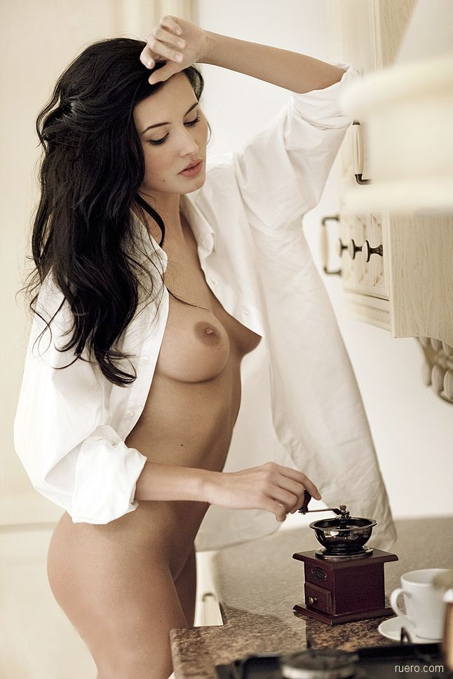 Right! Idea naked woman drinking morning coffee consider