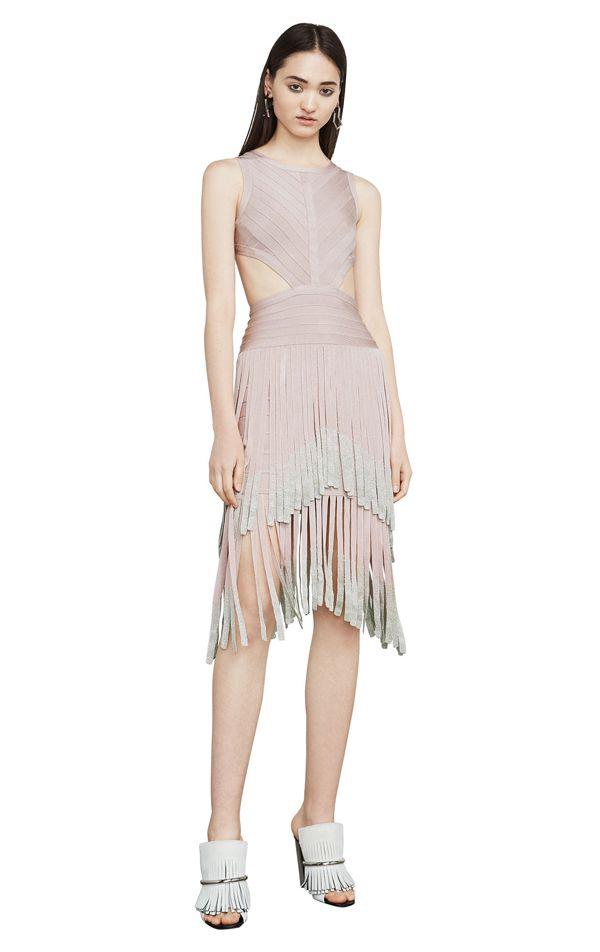 Cheap Herve Leger Bandage Nude Skirt Online Shop