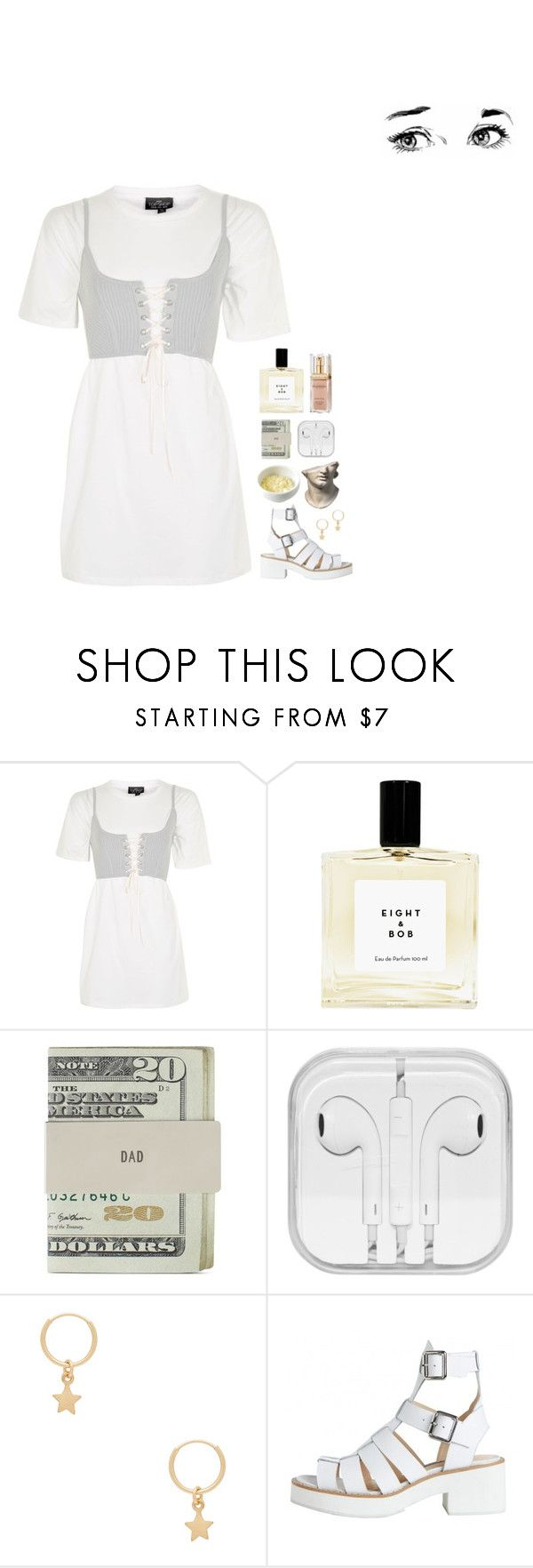 """""""dont get mad its just the factuals"""" by kayleeinfinity ❤ liked on Polyvore featuring Topshop, Jack Spade, Amarilo and Elizabeth Arden"""