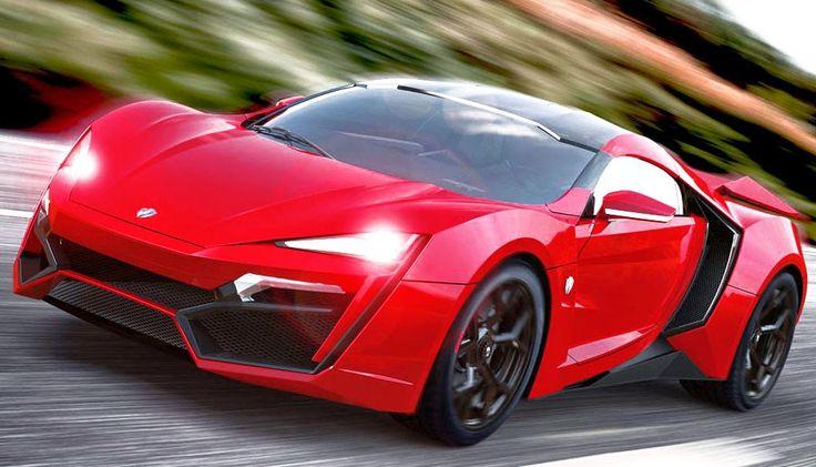 super car in fast 7
