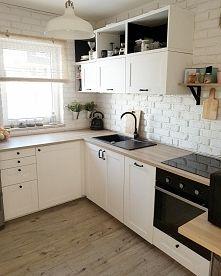Zobacz zdjęcie Moja mała kuchnia w bloku❤ wiecej na instagramie: oliv.home