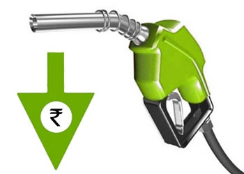 Petrol Prices Cut Down