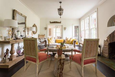 le jaune et le corail-House Tour: A Modern Farmhouse Style Tudor in Nashville | Apartment Therapy