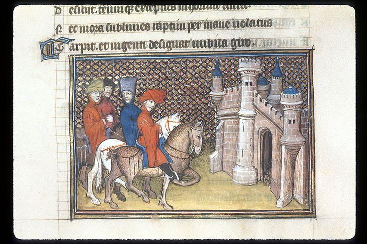 Publius Papinius Statius Thebais , with the argumenta antiqua; Achilleis, Francja, ok. 1405, f11