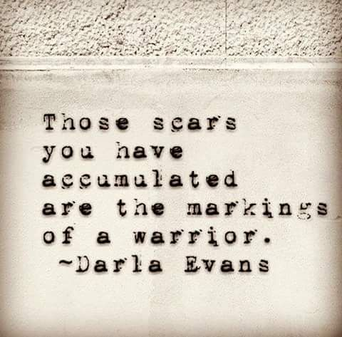 scars #strong My doctor told me my melanoma scar is is a big warrior scar…