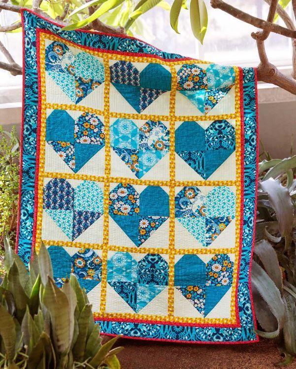 freesprit website- free quilt pattern