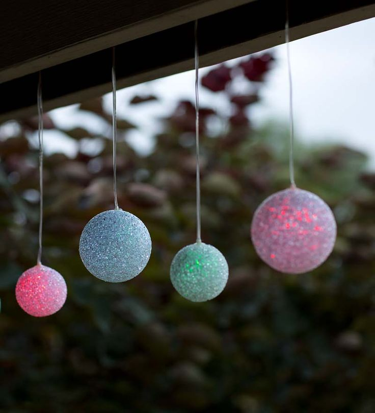 12 best solar lighting images on pinterest chandelier chandelier color changing solar snowball string lights let the sun light your holiday accents easy fun and festive aloadofball Gallery