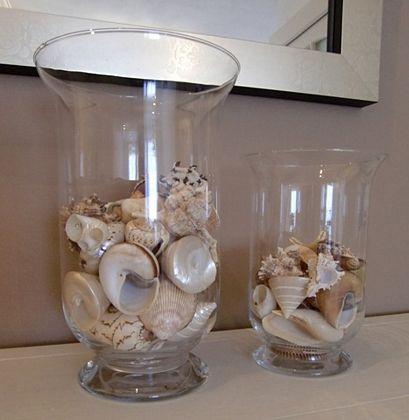 foto de ideas para decorar con conchas marinas adornos