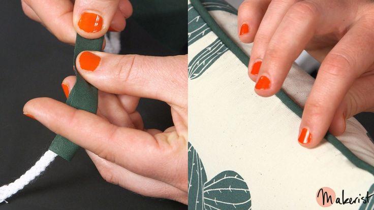 Technique couture : qu'est-ce que le passepoil ?
