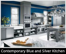 I chose the Contemporary Blue and Silver Kitchen in the Thermador Star-Sapphire™ Dishwasher Contest. You can enter to win one of two Thermador Star-Sapphire™ Dishwashers here: http://houseandhome.com/ms/thermador/en-ms-kitchen-upgrade/?referralID=28028616