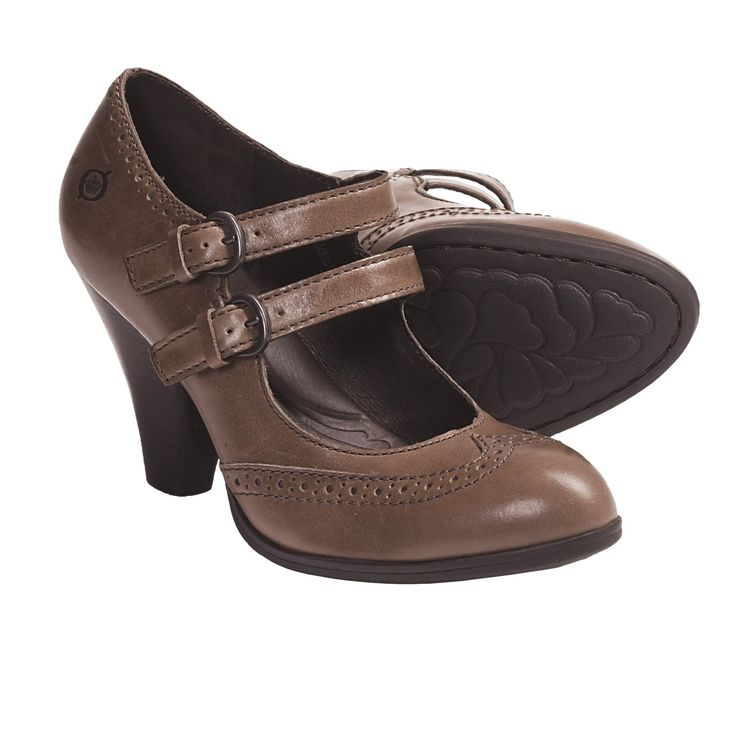 There's something about this pair from Born -- Davina Mary Jane Shoes.