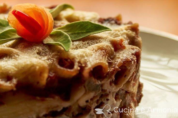 #Pasta gratinata al #forno con radicchio e speck http://www.cucinaearmonia.com/2014/05/pasta-gratinata-al-forno-con-radicchio.html #food #foodblogger #cucinaearmonia