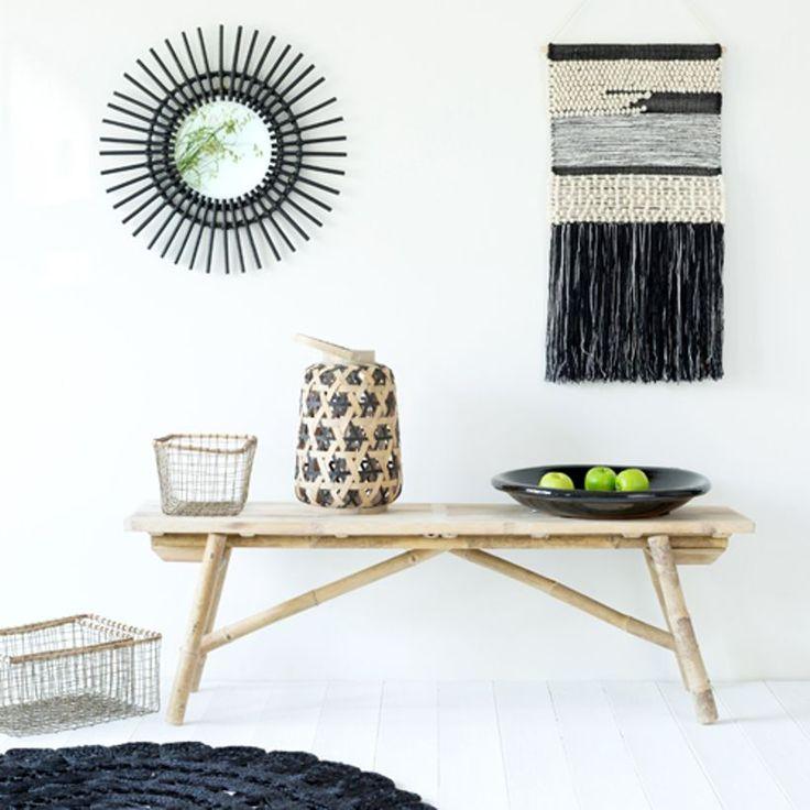 les 25 meilleures id es de la cat gorie miroir soleil sur pinterest miroir en rotin mur de. Black Bedroom Furniture Sets. Home Design Ideas