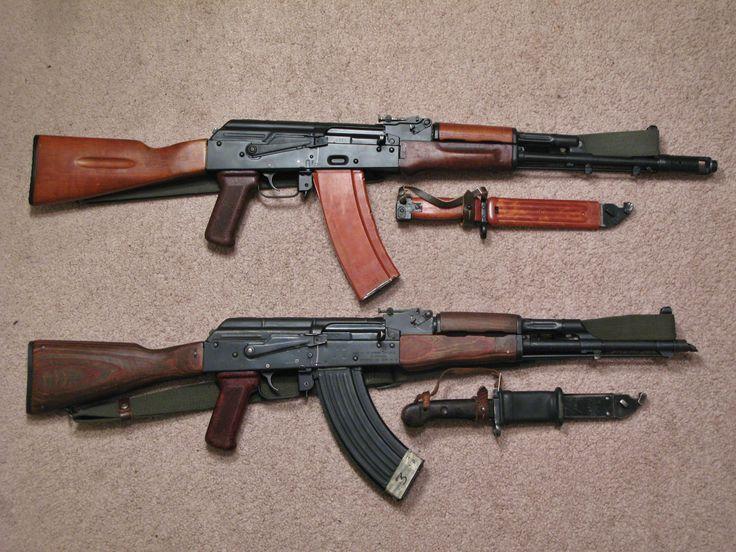 AKM and AK-74 Comparison | Ak 74, Guns and AK 47