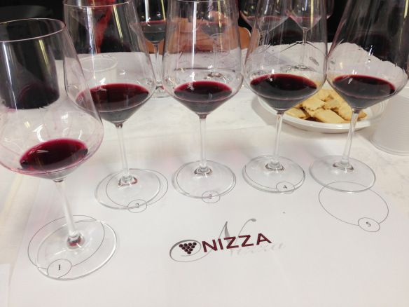 Nizza 2011 wine tasting