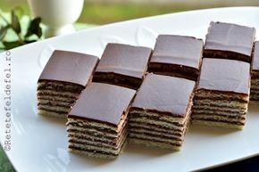 Prajitura cu foi si crema de cacao, o reteta veche, cu amintiri din …