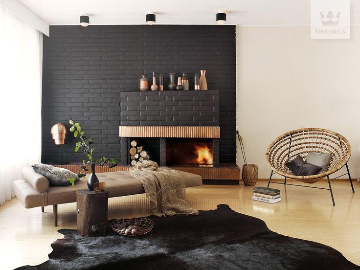 Salon styl Eklektyczny - zdjęcie od Tikkurila - Salon - Styl Eklektyczny - Tikkurila