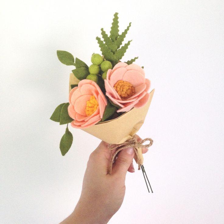 • Felt Flowers • By Dear May
