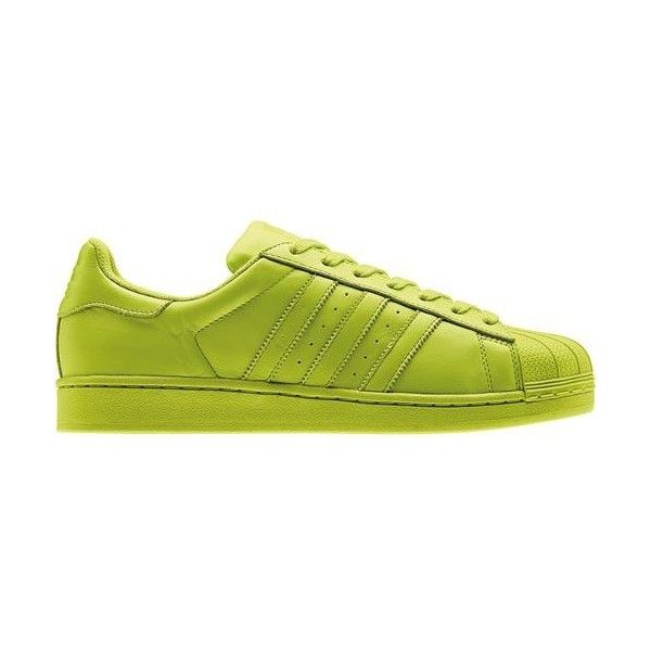 Scarpe Superstar Supercolor Pack ($110) ❤ liked on Polyvore featuring adidas