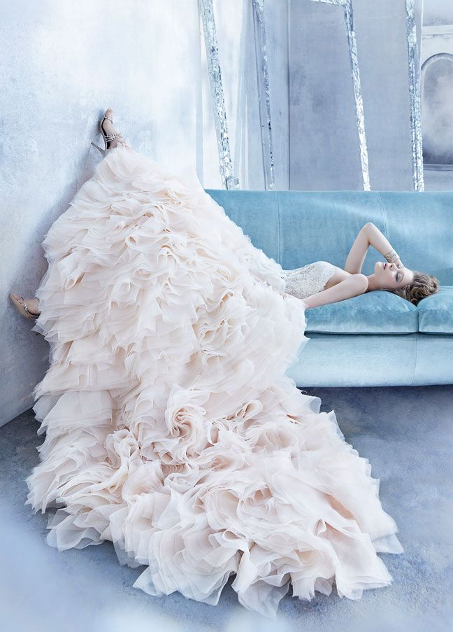 Lazaro wedding dress 2014 fall
