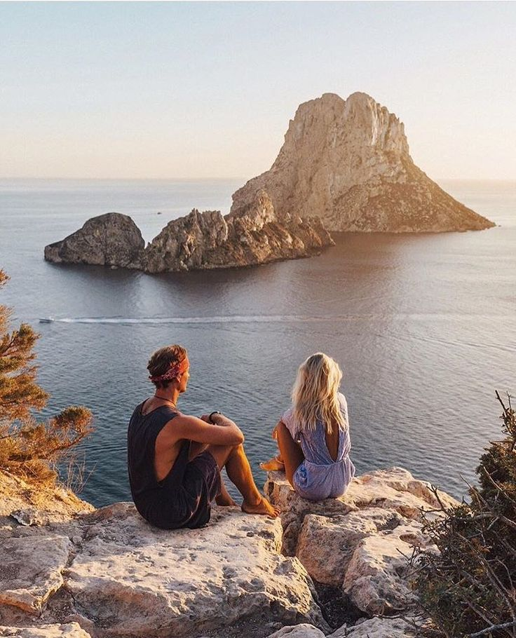 The Magical Spot at Es Vedra Ibiza. Tag who you sit with!Courtesy of @doyoutravel #VacationWolf