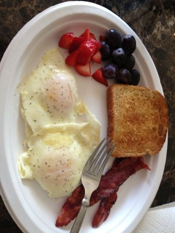 ~Living Healthy with Brittiney~: Low Calorie Breakfast!