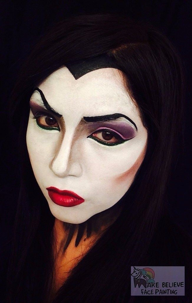 Evil Queen Face Painting 1 Face Painting Face Painting Designs Painting