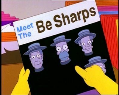Homer Simpsons The Be Sharps