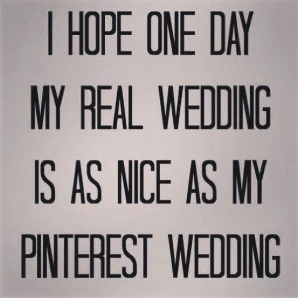 The 6 stages of planning a wedding on Pinterest #wedding #pinterest