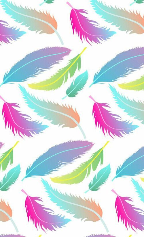 Wallpaper-feathers