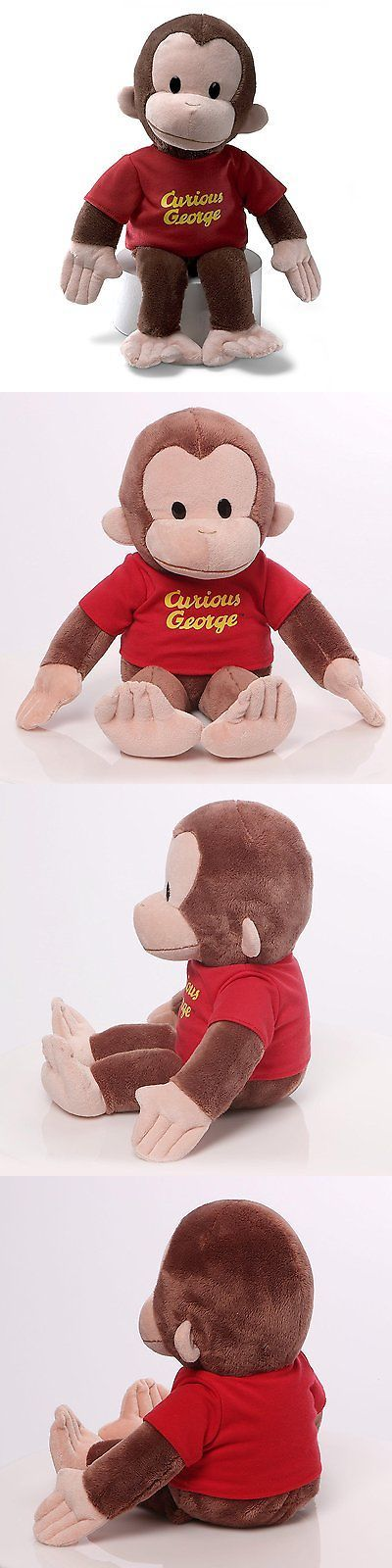 Curious George 19215: Gund Curious George Stuffed Animal, 16 Inches -> BUY IT NOW ONLY: $33.8 on eBay!