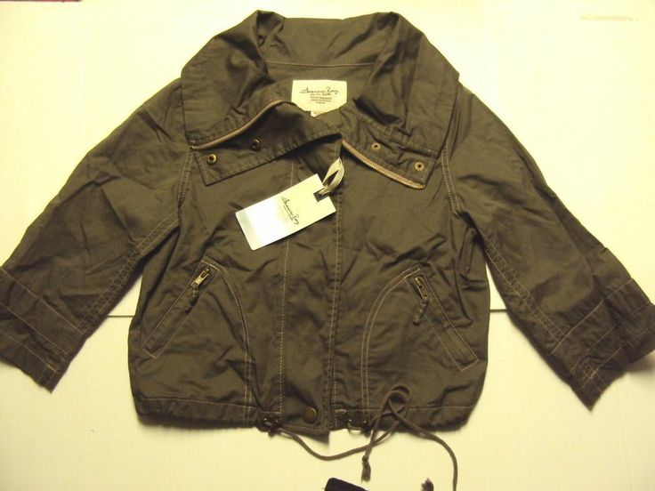 Plus Size Army Fatigue Jacket