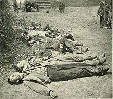 Confederate dead of General Ewell's Corps who attacked the Union lines at the Battle of Spotsylvania, May 19, 1864