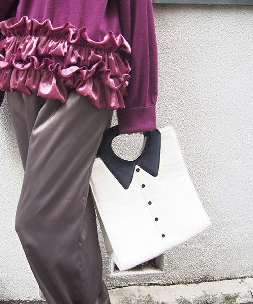 merry jenny,ダンディシャツBAG可以搜尋使用這款服飾的流行搭配。