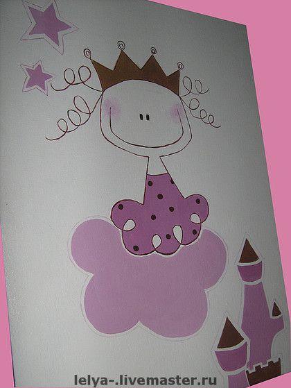 Картина Принцесса Micuna Petit Princesse. Эта принцесса рисовалась  по заказу для…