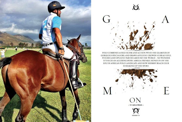 ARTICLE: Find out about the SA polo landscape & how #Shimmy is shaking up the sport in our latest #ShimmyStyle mag