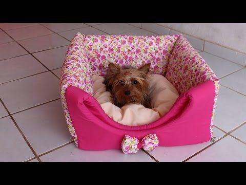 Como fazer uma casinha, caminha ou Cabaninha para cachorro ,gato ! Com Arte de Paninho - YouTube