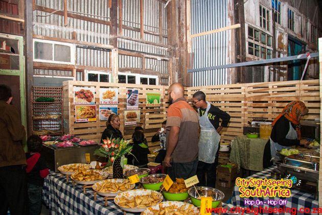 Shireen's Halaal Cuisine  http://citysightseeing-blog.co.za/2014/10/15/a-new-market-in-town-johannesburg/