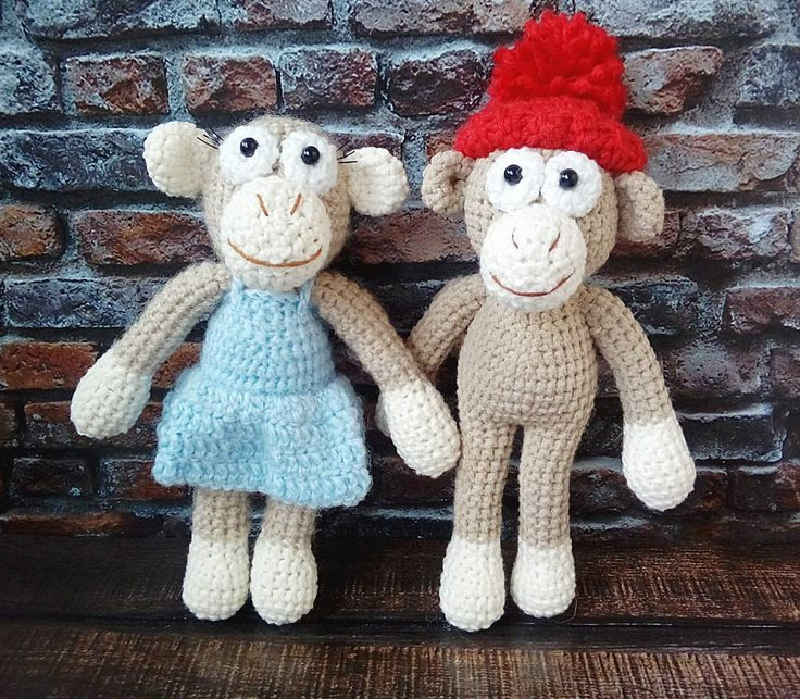 (best_happyhands)  «Милашки обезьянки. Парочка непосед которые не любят сидеть на месте) Ищут таких же активных хозяев.…»