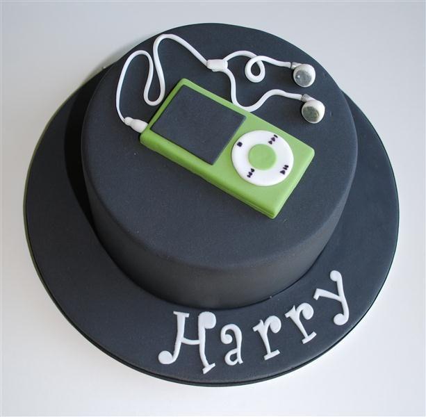 Harry's Ipod Cake by Go Cake! (Lou), via Flickr