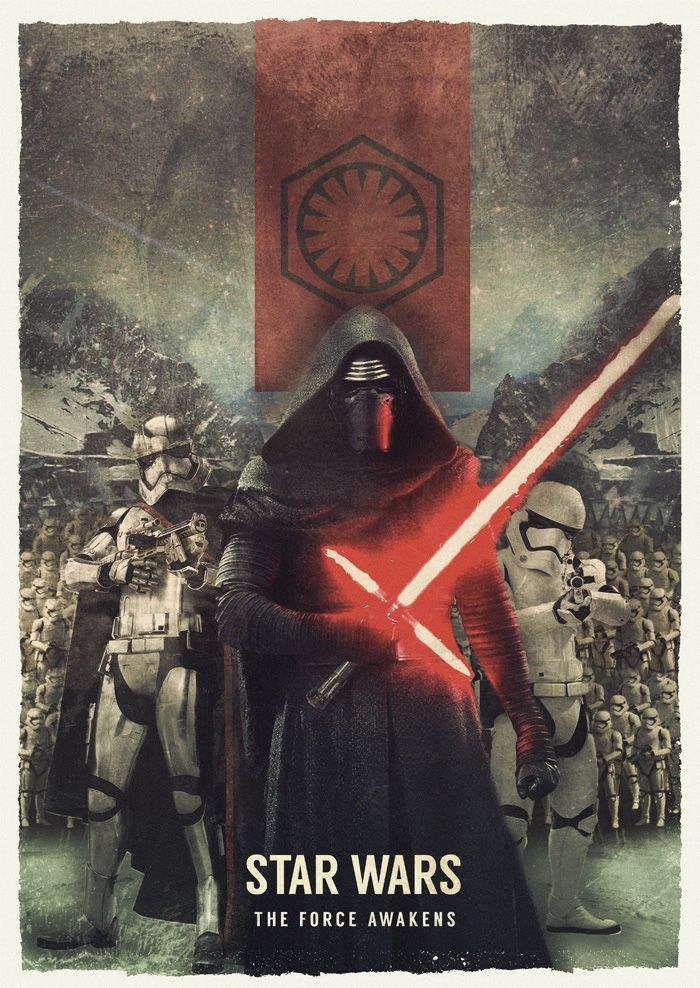 Star Wars The Force Awakens; The First Order - JJ Armstrong