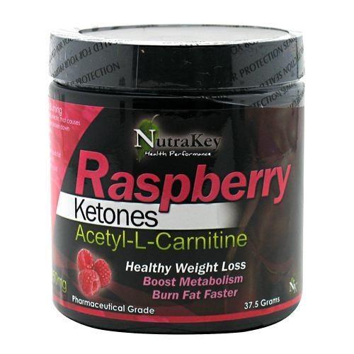 Nutrakey Raspberry Ketones Acetyl-L-Carnitine