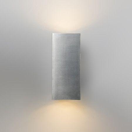 Perfect Wandleuchte Baleno II Stahl Hochklassige und edle Wandleuchte aus rostfreiem Stahl Wandleuchte