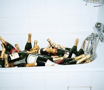 Inspiring picture forever young, alcohol, bath, bathroom. Resolution: 500x333 px. Find the picture to your taste!
