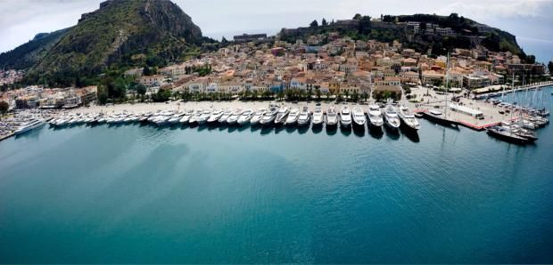Το 3ο Mediterranean Yacht Show διοργανώνεται στο Ναύπλιο από τις 7-10 Μαΐου