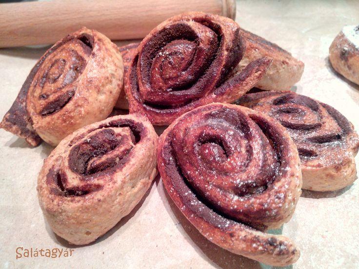 Túrós kakaós csiga zabpehelylisztből diétás reggelire! :) Jó kis recept, az Olvasók abszolút kedvence a blogomon!