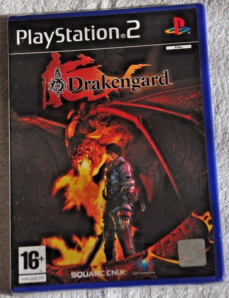 DRAKENGARD  Sony Playstation 2 Video Game PS2