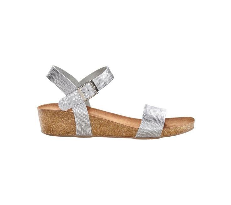 Sandály s metalickým efektem hadí kůže | blancheporte.cz #blancheporte #blancheporteCZ #blancheporte_cz #shoes #boty #sandals
