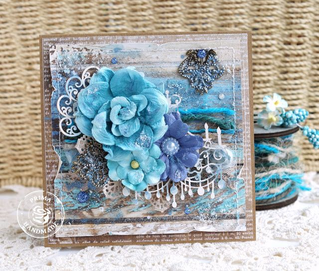 Scrap Art by Lady E: Prima French Riviera Cards